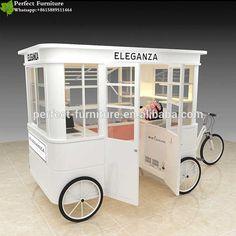 Kiosk Design, Coffee Carts, Coffee Shop, Mall, Food Cart Design, Mobile Food Cart, Bubble Milk Tea, Food Kiosk, Tea Cart
