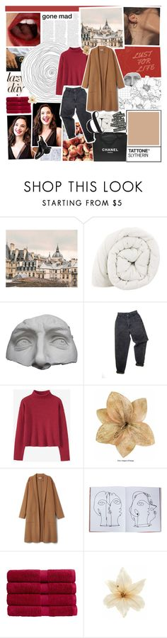 """a dream that i could rest my cheek to"" by h-eartstrings ❤ liked on Polyvore featuring WALL, Chanel, Romanelli, Levi's, Assouline Publishing, Christy, Clips, Charles Tyrwhitt and comments_header"