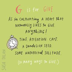365 Days of Gratitude: Day 281 - Susa Talan