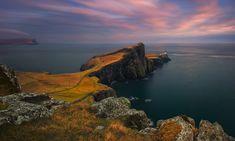 The Lighthouse at the End of the World.... Scotland, Isle of Skye, Neist Point - March 2016 https://www.facebook.com/Pawel.Kucharski.Photography Author: Pawel Kucharski