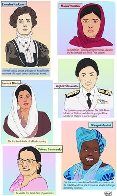 Van's Scribbles: Revolutionary Women in Politics