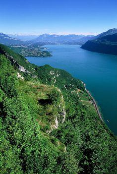 Le Lac du Bourget - Savoie.