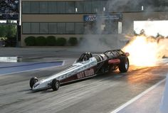 Jet cars slow off the line but the top end is screamin