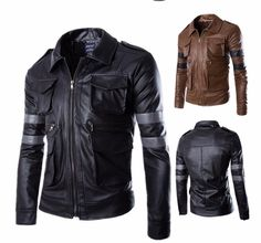 Biohazard Resident Leather Jacket – The Brothers Cut