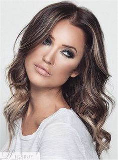 New hair color cobrizo corto Ideas Light Brown Hair, Dark Hair, Soft Brown Hair, Ash Brown, Brown Hair With Blonde Highlights, Ash Blonde, Thin Highlights, Golden Blonde, Blonde Lace Front Wigs
