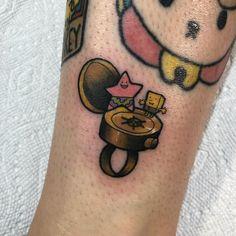Bff Tattoos, Cartoon Tattoos, Sweet Tattoos, Best Friend Tattoos, Future Tattoos, Tattoo You, Body Art Tattoos, Print Tattoos, Cool Tattoos