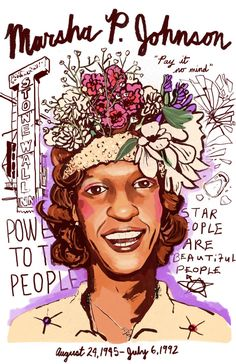 Marsha P. Johnson | 10 Historical Badasses You're Probably Unaware Of