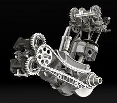 Ducatis 1199 Panigale - Superquadro engine