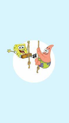 Spongebob Iphone Wallpaper, Iphone Wallpaper Vsco, Cartoon Wallpaper Iphone, Disney Phone Wallpaper, Iphone Background Wallpaper, Cute Cartoon Wallpapers, Aesthetic Iphone Wallpaper, Patrick Spongebob, Minimalist Wallpaper