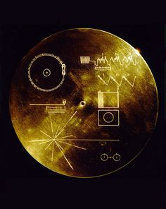 The Golden Records, sent out with the Voyager I and II spacecraft, contain diagrams representing basic scientific concepts, but may be most ...