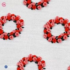 Hand Embroidery Patterns Flowers, Hand Embroidery Videos, Embroidery Stitches Tutorial, Hand Work Embroidery, Embroidery Flowers Pattern, Simple Embroidery, Learn Embroidery, Hand Embroidery Designs, Embroidery Kits