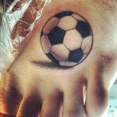 soccer tattoo designs | fuckyeahtattoos:Soccer ball tattoo.. I've been playing soccer for ...