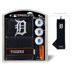 Detroit Tigers MLB Embroidered Towel Gift Set