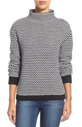 Sanctuary 'Roller' Mock Neck Sweater