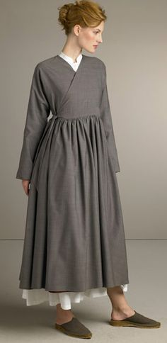 Something: I Blame Rita And Katie,  Eskander Coat-Dress and Shirt Dress.