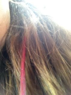 how to get food coloring out of your hair