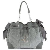 Juicy Couture Quilted Daydreamer Handbag-Grey From Juicy Couture - Bags or Shoes Shop