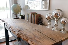 Natural Wood Sideboard Buffet Table - Decoist