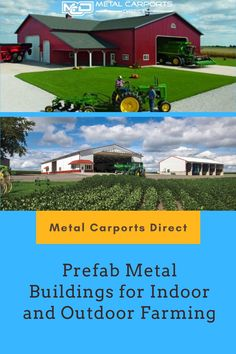 If you're looking for #metal building for your indoor and outdoor #farming?  Browse Metal Carports Direct for unbeatable prices on our most popular #metal buildings. Choose us to get your favorite metal storage #shed and barns among an extensive selection of metal #buildings. Get FREE delivery and FREE installation!.  Call us toll-free at (844)337-4137 Metal Barn Kits, Prefab Metal Buildings, Rv Shelter, Metal Carports, Steel Barns, Farming, Free Delivery, Shed, Indoor