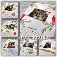 Stempellicht: Fotokalender mit Stampin´Up Stempelsets