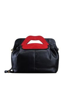 L'anteprima borse Red Valentino 2016 (e i prezzi) Red Valentino borsa a spalla con bocca 590.00 euro