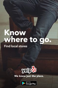 Looking for the perfect pair of jeans? Can't find the right ones? Whatever your needs, Yelp has tons of great local reviews from millions of users. Get the App and start