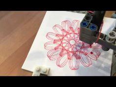 Lego EV3 Spirograph - YouTube