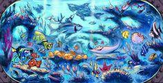 finding nemo submarine voyage concept art