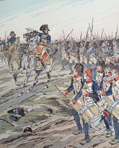 Napoleone guida le sue truppe - Jacques Onfroy de Bréville