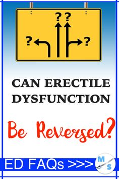 Can Erectile Dysfunction be Reversed? The answer to this question is a definite yes in most cases. The bigger question is, how difficult will it be to. I Feel You, Natural Home Remedies, New Beginnings, Losing Me, Feel Better, Mans Health, The Cure, Health Fitness, Medical