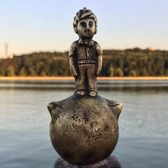 Discover Moldova's Little Prince Statue in Chisinau, Moldova: At less than four inches in height, this iconic fictional character is the smallest public statue in all of Moldova. Places In Europe, Places Around The World, Hidden Places, Moldova, Weird And Wonderful, National Museum, Eastern Europe, Countries Of The World, Romania
