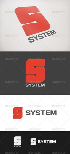 System  #GraphicRiver         System is a logo created especially for the technological category, system solutions, software, hardware. It is alsopossible to apply in other categories.     Customizable 100%   CMYK    AI – EPS    Font used Days      Created: 21October11 GraphicsFilesIncluded: VectorEPS #AIIllustrator Layered: Yes MinimumAdobeCSVersion: CS Resolution: Resizable Tags: brand #branding #corporate #database #datasystem #identity #letter #logo #logotype #s #technology