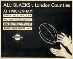 All Blacks v London Counties 1935