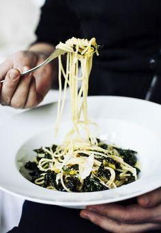 Lemon & cole pasta - Suvi sur le vif