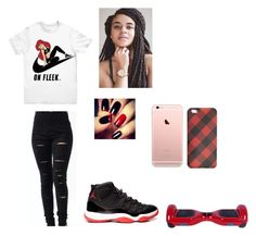"""""""Untitled #53"""" by arii-bankss ❤ liked on Polyvore featuring NIKE and J.Crew"""