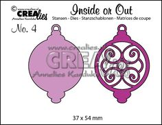 Inside or Out no. 4 Kerstbal D / Christmas ornament D
