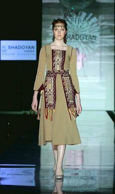 Տարազ- Armenian National Clothing - Taraz Fashion Show, Fashion Outfits, Womens Fashion, Fashion Design, Embroidery Fashion, Folk Costume, Kazakhstan, Armenia, All About Fashion