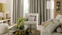 PG 4 / Elegant/ Mapping / Deko/Gardine / Bild 6/ Sofa Sessel grün grau | Saum & Viebahn
