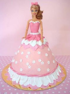 Have you ever made a princess birthday cake? Just be careful before sticking that dolly in your creation as she may be worth some money. More and more toys from the 80's are becoming collectable. Your cake could end up being worth more than you thought.