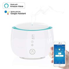 Oil Diffuser Humidifier, Aromatherapy Humidifier, Aromatherapy Oils, Aroma Diffuser, Essential Oil Diffuser, Essential Oils, Wifi, Star Wars, Smart Home Automation