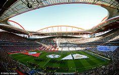 Stadium of Light in Lisbon