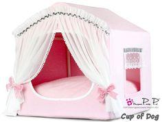 "Maison Pretty Pet ""My Princess House"" - Pink https://www.cupofdog.fr/panier-coussin-chihuahua-petit-chien-xsl-253.html"