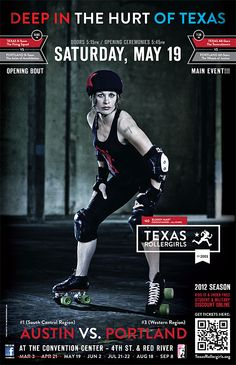 Bloody Mary of the Texas Rollergirls