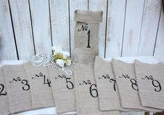 Adorable bags for blind wine tasting!