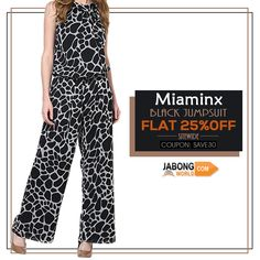 Check out the BESTSELLERS.. you can't buy just 1--> http://www.jabongworld.com/women/jumpsuits.html?dir=desc&order=bestsellers?utm_source=ViralCurryOrganic&utm_medium=Pinterest&utm_campaign=JumpsuitBestsellers-09-sep2015 #Jumsuit #Fashion #Black FLAT 30% OFF SITEWIDE!!!