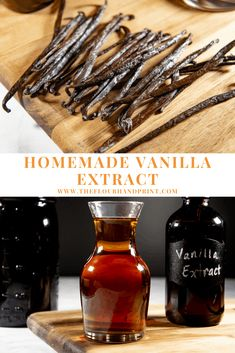 Learn how to make vanilla extract at home, for a lot cheaper than it costs to buy vanilla extract. This homemade vanilla extract recipe only takes 2 ingredients and a bit of patience, once you taste y Vanilla Extract Recipe, Homemade Christmas Gifts, Xmas Gifts, Christmas Presents, Madagascar Vanilla Beans, Pumpkin Spice Cupcakes, Vanilla Cupcakes, 2 Ingredients, Cocktails