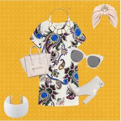 Optical style today by giuliamulonia on Polyvore featuring polyvore, fashion, style, Mary Katrantzou, Gianvito Rossi, Kate Spade, Gogo Philip, Blanc & Eclare and The Future Heirlooms Boutique