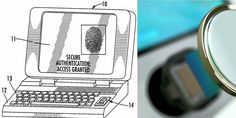 Apple finally granted 2007 patent on Touch ID sensor in Macs (with hilariously old image)