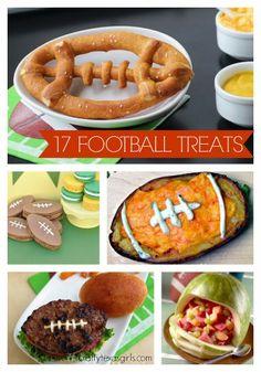 17 Football Shaped Treats & Eats