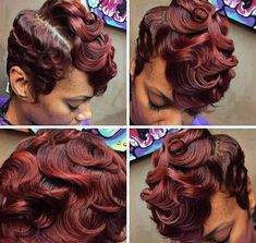 Pin Curls - 2015 hairstyle images women hair color brunette short hairstyles,black women hair highlights shades pixie hairstyles color,afro hairstyles bob hairstyles for over Dope Hairstyles, Cute Hairstyles For Short Hair, Braided Hairstyles, Curly Hair Styles, Natural Hair Styles, Brunette Hairstyles, Hairstyle Images, Beautiful Hairstyles, African Hairstyles
